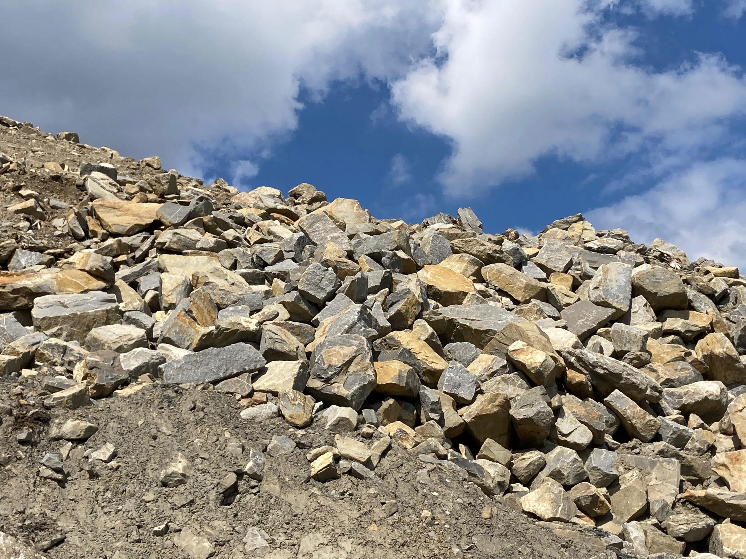 Mai 2021 - Besuch im Steinbruch
