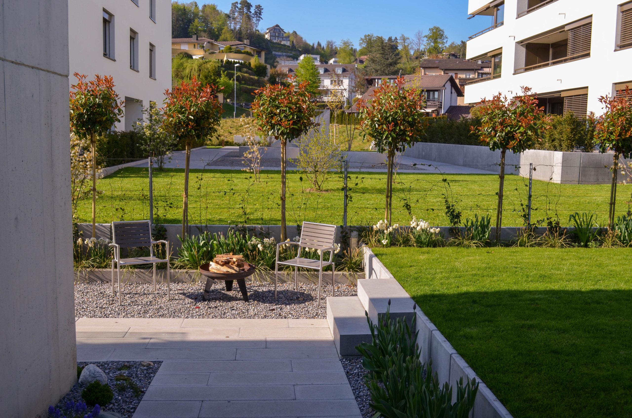 Reihenhausgarten Meggen 05