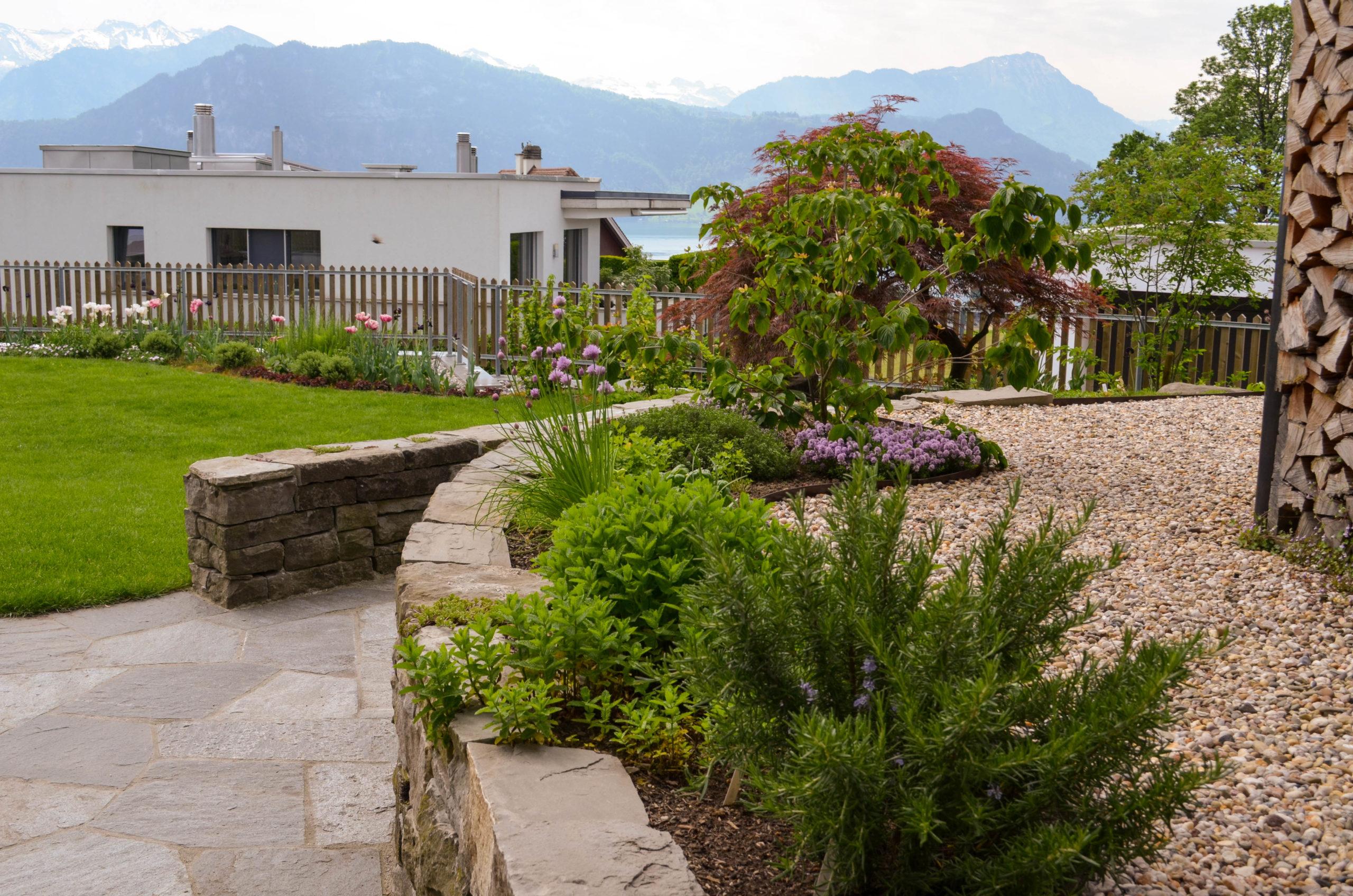 Privatgarten mit neuem Schwung